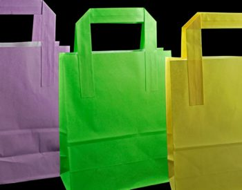 Paper Bags With Flat Handle